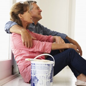 Empty nesters in new home