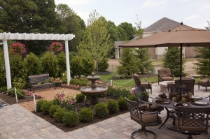 functional outdoor living space