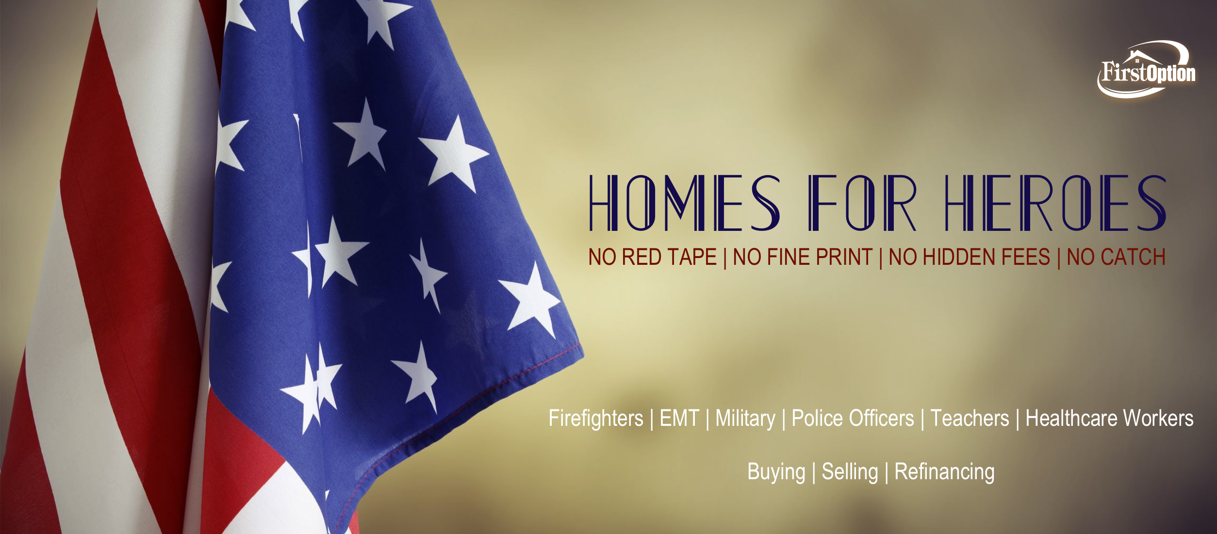 First Option Supports Utah Homes For Heroes