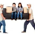 kids adjust moving