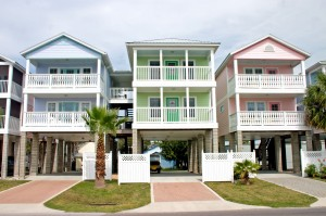 Three pastel condos in North Florida give you an idea of what you might find on the market.
