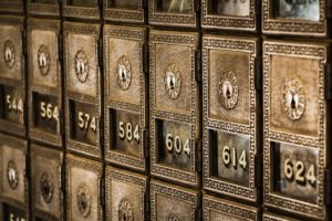 Safety Deposit Box Numbers